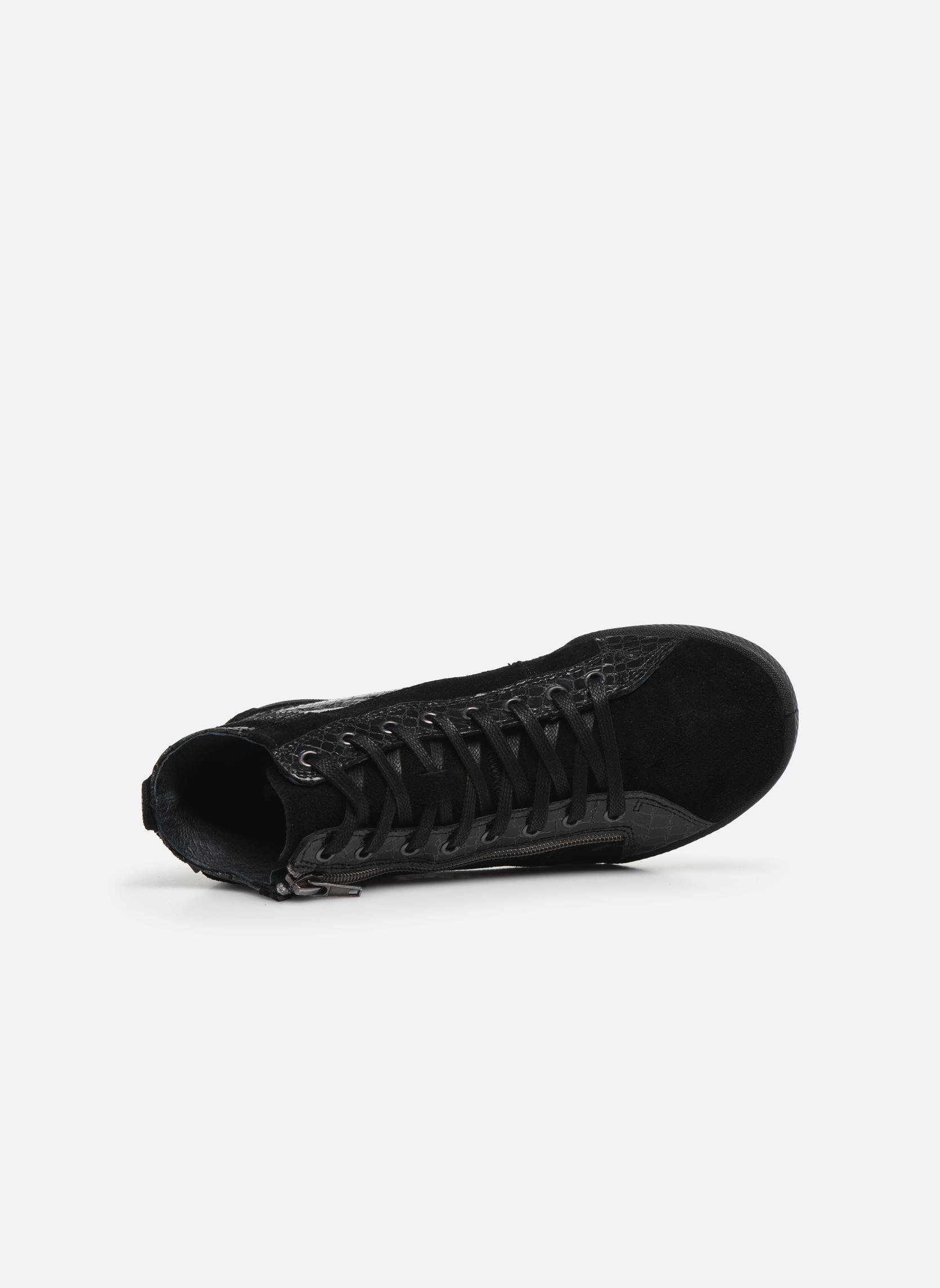 Baskets Pataugas Palme/C Noir vue gauche
