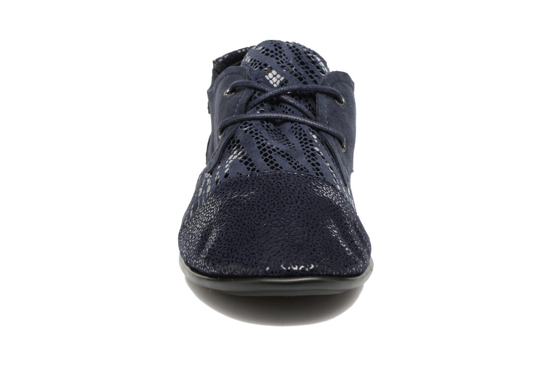 Chaussures à lacets Pataugas Swing/Z Bleu vue portées chaussures