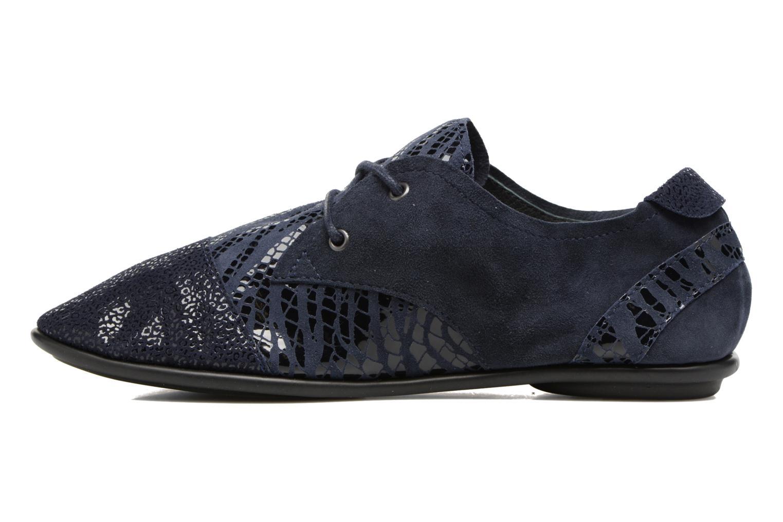 Chaussures à lacets Pataugas Swing/Z Bleu vue face