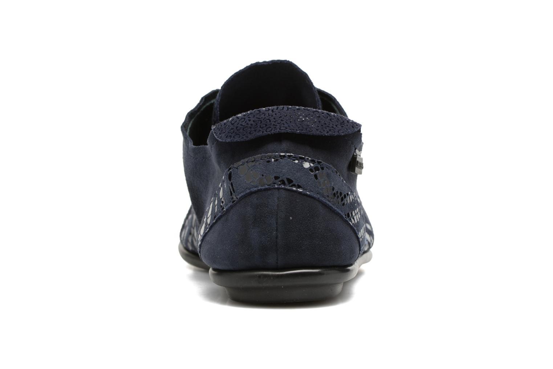 Chaussures à lacets Pataugas Swing/Z Bleu vue droite