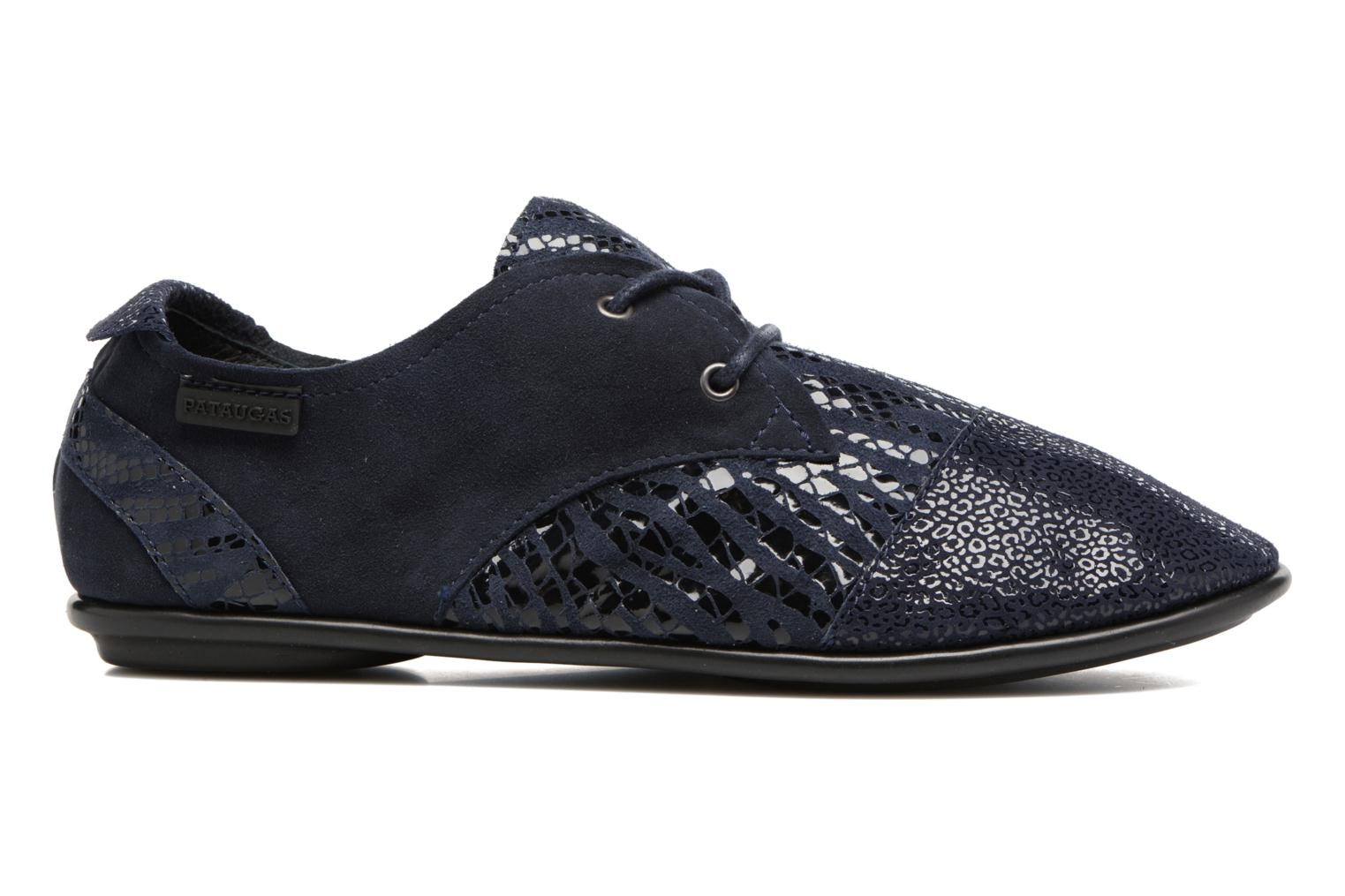 Lace-up shoes Pataugas Swing/Z Blue back view