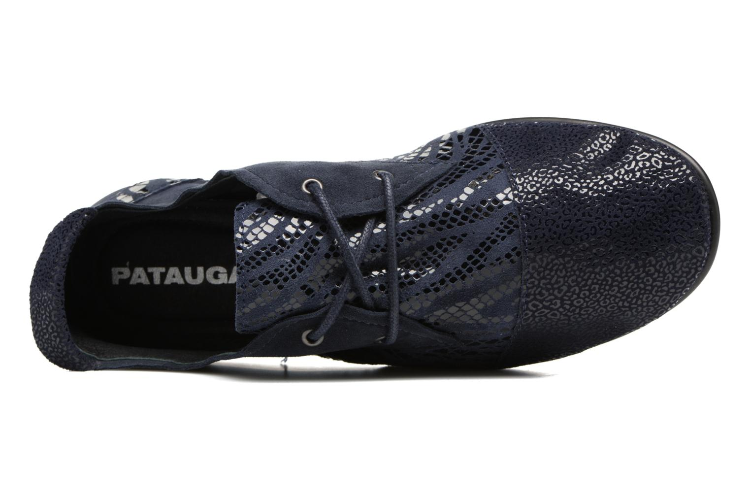 Lace-up shoes Pataugas Swing/Z Blue view from the left