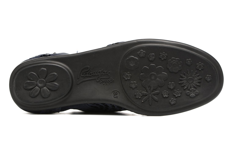 Chaussures à lacets Pataugas Swing/Z Bleu vue haut