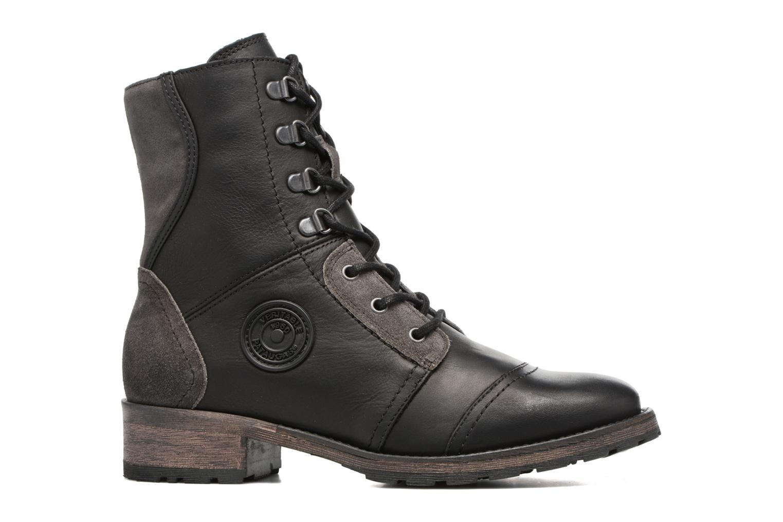 Bottines et boots Pataugas Duke Noir vue derrière