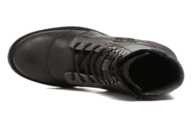 Bottines et boots Pataugas Duke Noir vue gauche
