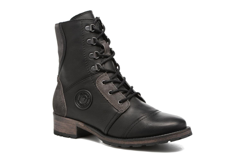 Bottines et boots Pataugas Duke Noir vue détail/paire