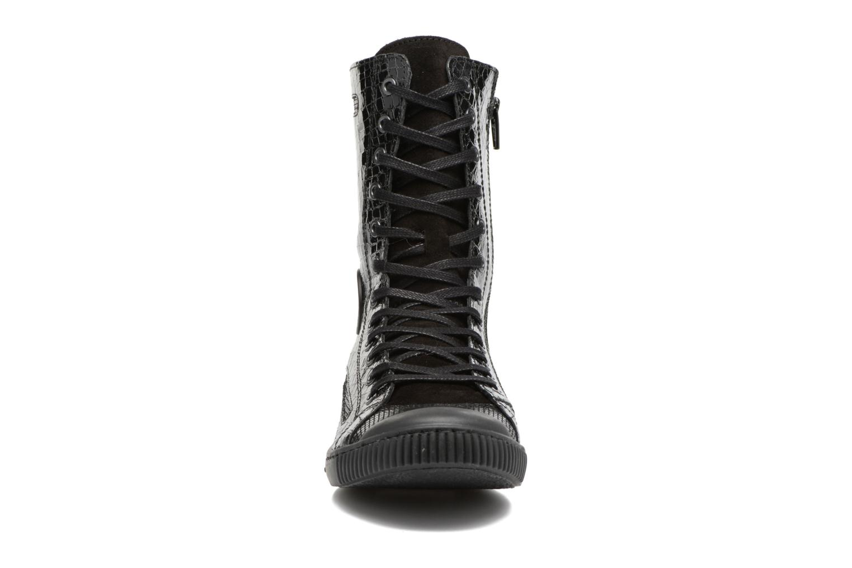 Baskets Pataugas Basic/C Noir vue portées chaussures