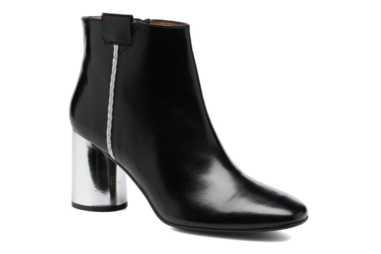 Boots Camp #16 Cuir Lisse Noir