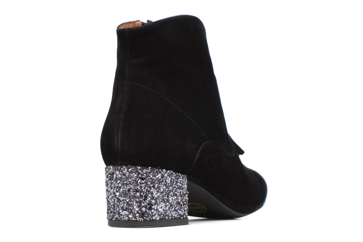 Winter Freak #6 Cuir velours noir