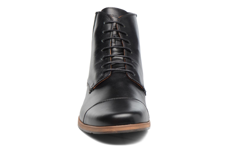 Bottines et boots Schmoove Blind British Brogue Fargo Noir vue portées chaussures