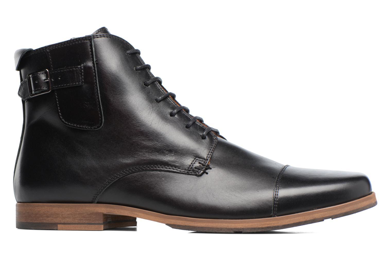 Bottines et boots Schmoove Blind British Brogue Fargo Noir vue derrière