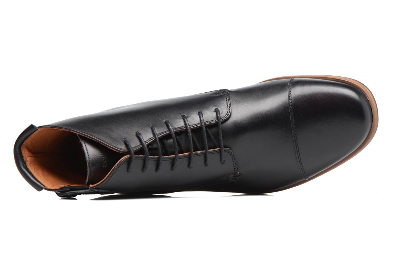 Bottines et boots Schmoove Blind British Brogue Fargo Noir vue gauche
