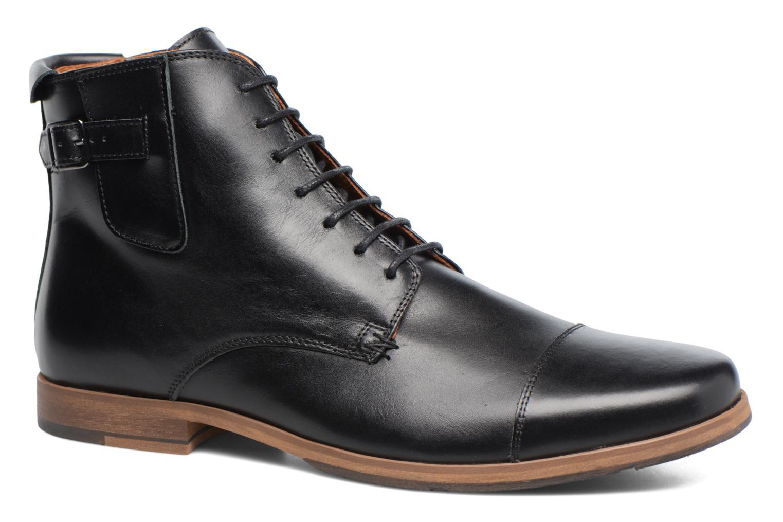 Bottines et boots Schmoove Blind British Brogue Fargo Noir vue détail/paire