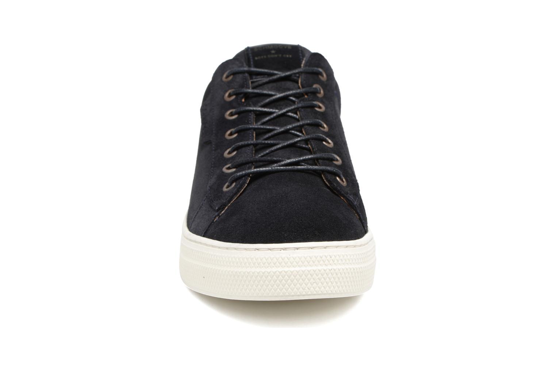 Baskets Schmoove Spark Clay Suede Noir vue portées chaussures