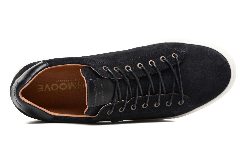 Sneakers Schmoove Spark Clay Suede Nero immagine sinistra