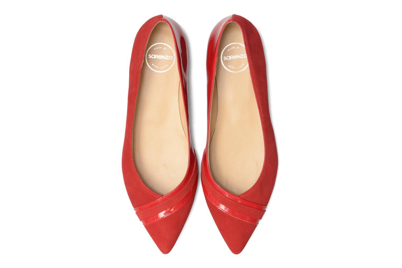Ballerines Made by SARENZA Legit Legion #1 Rouge vue portées chaussures