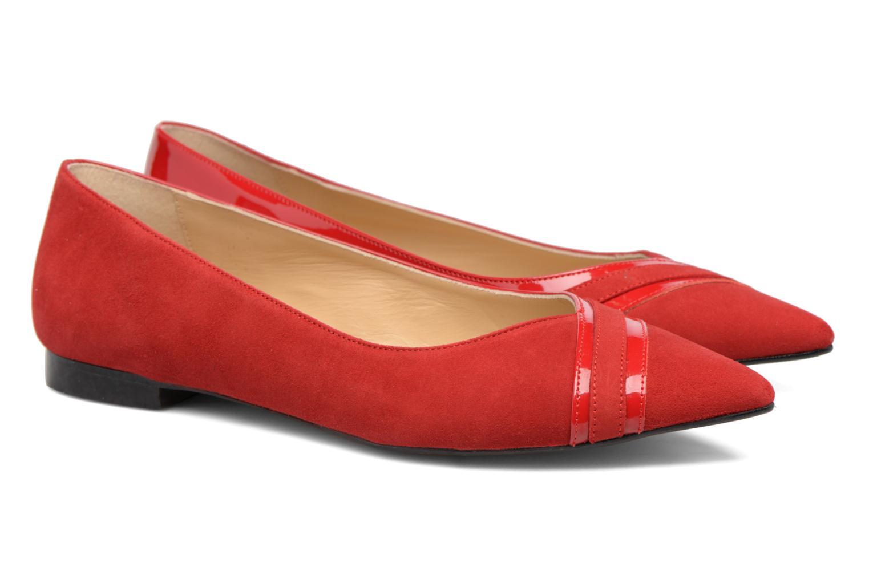 Bailarinas Made by SARENZA Legit Legion #1 Rojo vistra trasera
