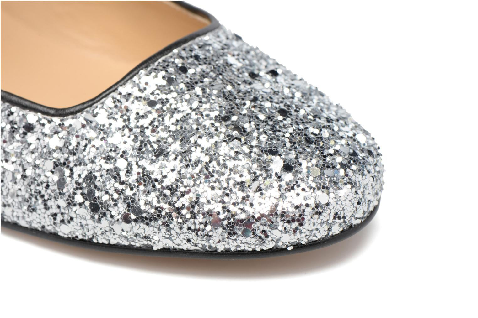 Ballet pumps Made by SARENZA Funtastic Chick #2 Silver view from the left