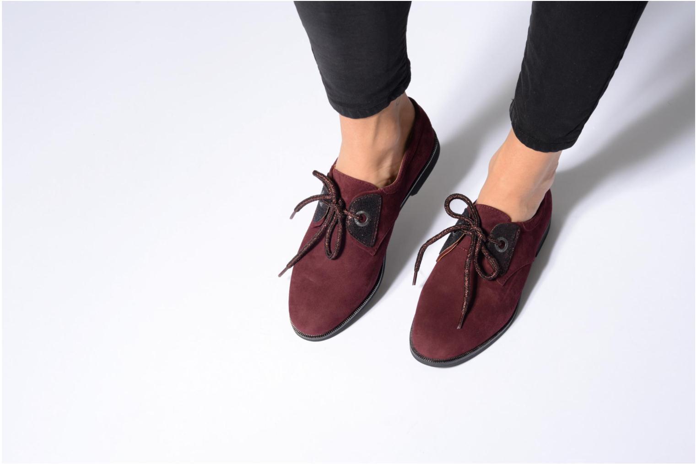 Chaussures à lacets Armistice Hero one Marron vue bas / vue portée sac