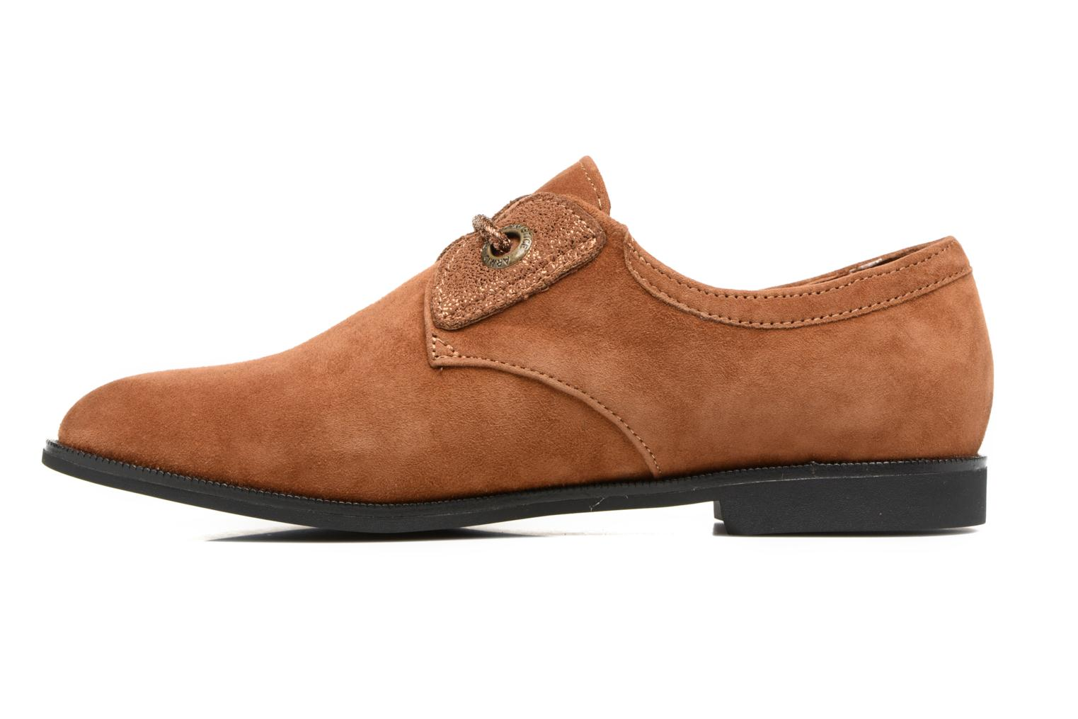 Lace-up shoes Armistice Hero one Brown front view
