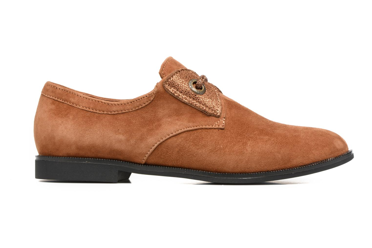 Lace-up shoes Armistice Hero one Brown back view