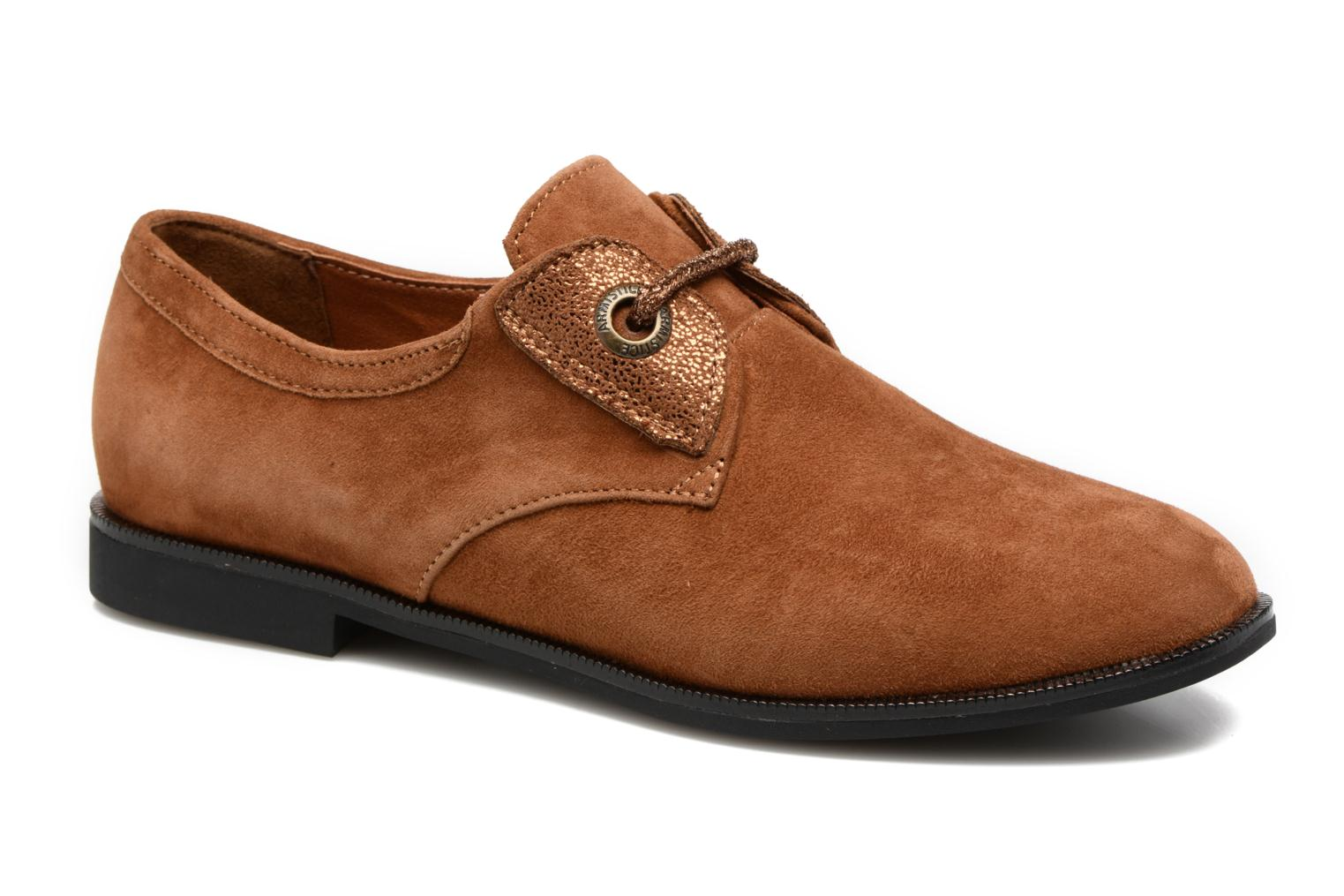 Lace-up shoes Armistice Hero one Brown detailed view/ Pair view