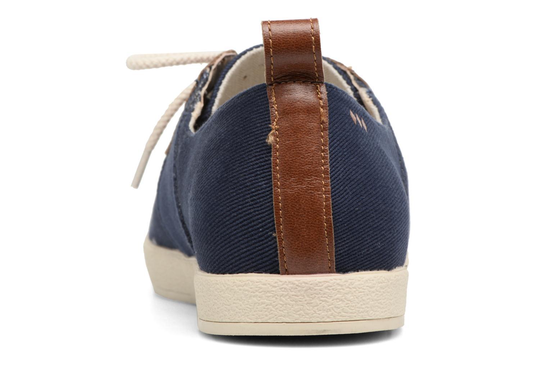 Baskets Armistice Cargo one Bleu vue droite