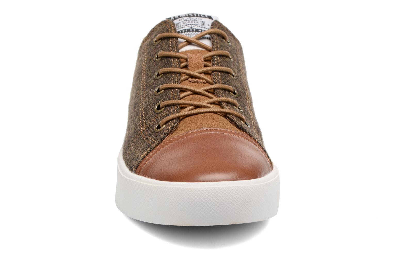 Baskets Armistice Border classic england Marron vue portées chaussures