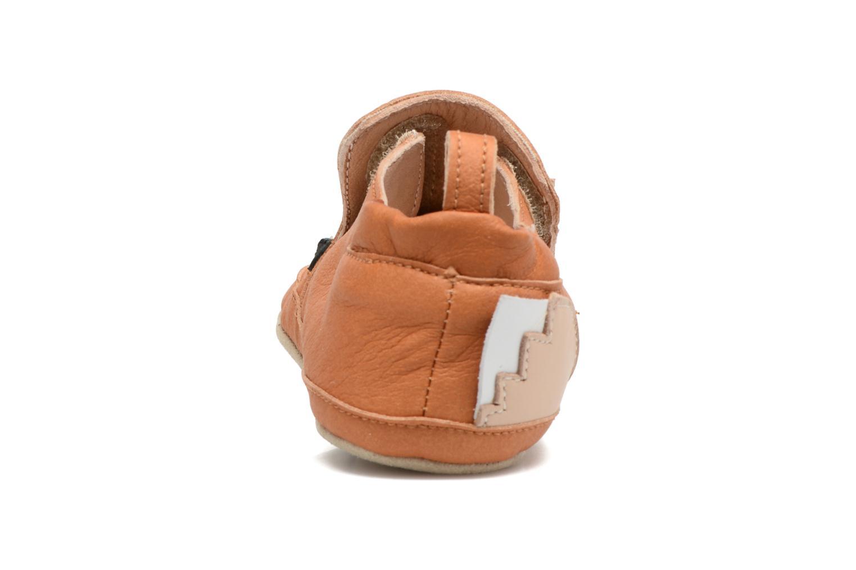 Pantofole Shoo Pom Chou Fox Marrone immagine destra