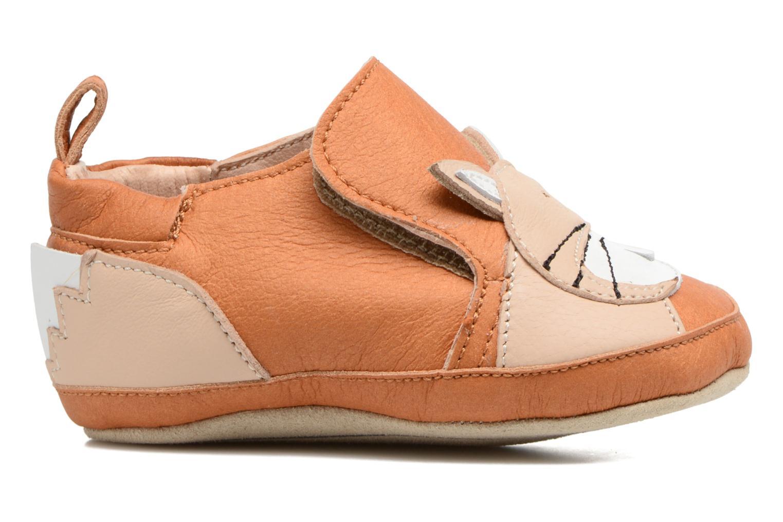 Pantoffels Shoo Pom Chou Fox Bruin achterkant