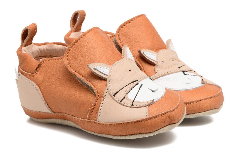 Pantofole Shoo Pom Chou Fox Marrone vedi dettaglio/paio