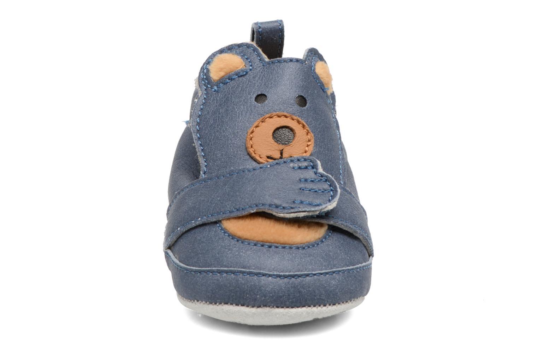 Pantoffels Shoo Pom Chou Teddy Boy Blauw model