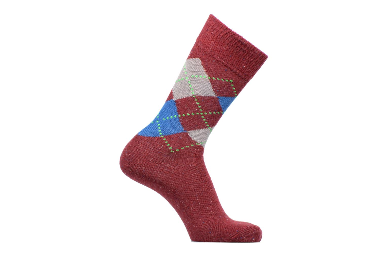 Chaussettes et collants Burlington Tweed Argyle SO Rouge vue détail/paire