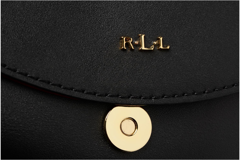 Sacs à main Lauren by Ralph Lauren Dryden Caley Mini Crossbody Noir vue gauche
