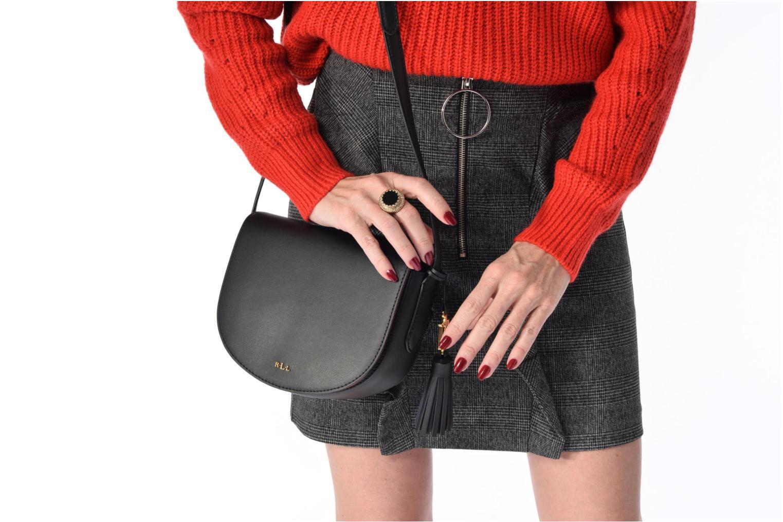 Sacs à main Lauren by Ralph Lauren Dryden Caley Mini Crossbody Noir vue haut