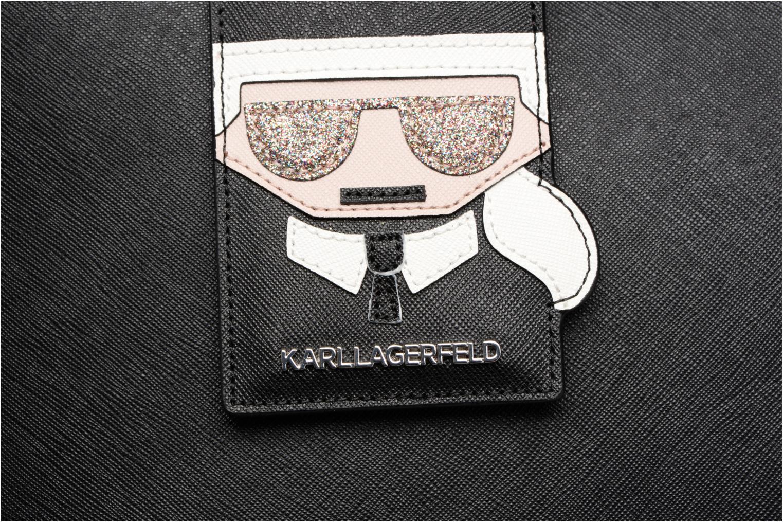 Sacs à main Karl Lagerfeld Kshopper Noir vue gauche