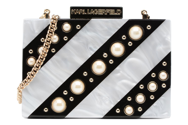 Sacs à main Karl Lagerfeld Rocky Pearls Minaudière Gris vue détail/paire