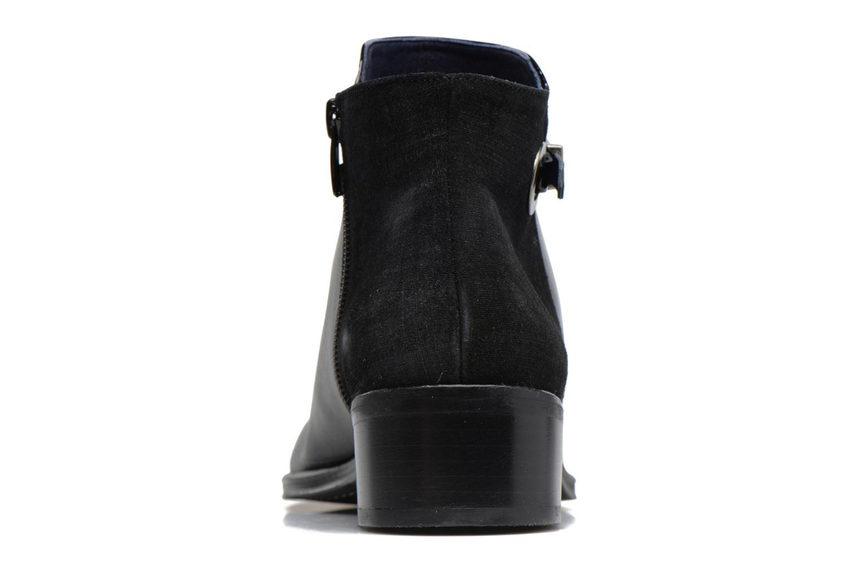 Bottines et boots Dorking Dulce 6835 Noir vue droite