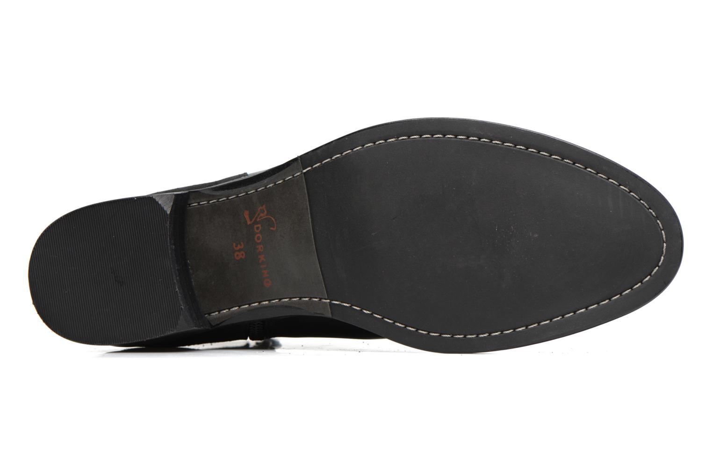 Bottines et boots Dorking Dulce 6835 Noir vue haut