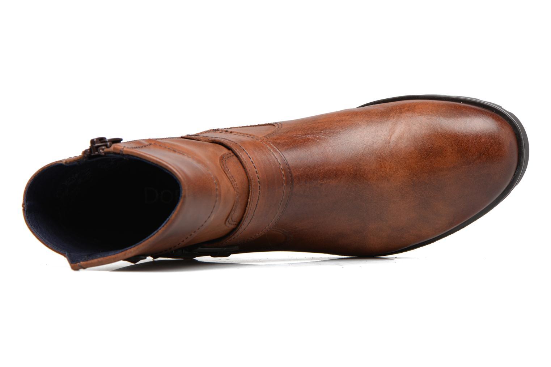 Bottines et boots Dorking Nala 7189 Marron vue gauche