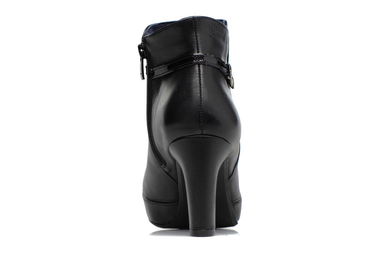 Bottines et boots Dorking Blesa 7290 Noir vue droite