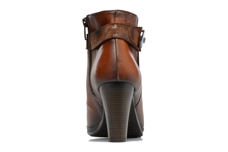 Bottines et boots Dorking Luna 7202 Marron vue droite