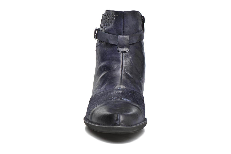 Bottines et boots Dorking Dalma 7371 Bleu vue portées chaussures