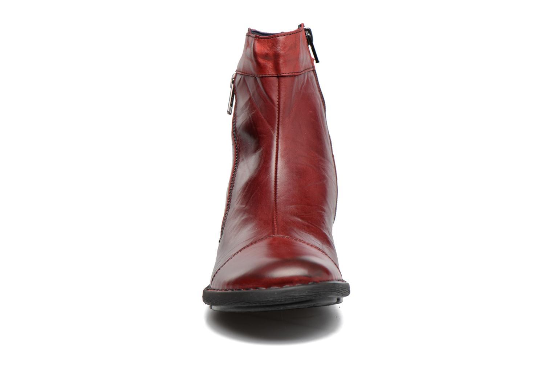 Bottines et boots Dorking Medina 7268 Bordeaux vue portées chaussures