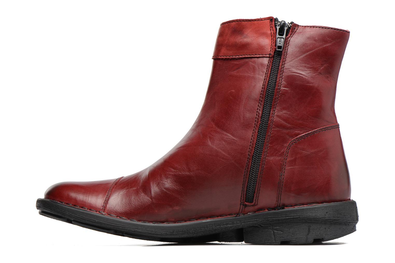 Bottines et boots Dorking Medina 7268 Bordeaux vue face