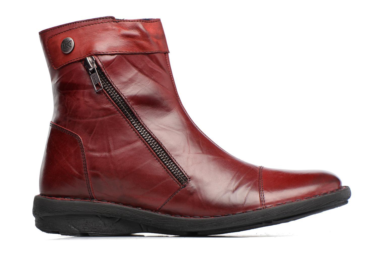 Bottines et boots Dorking Medina 7268 Bordeaux vue derrière