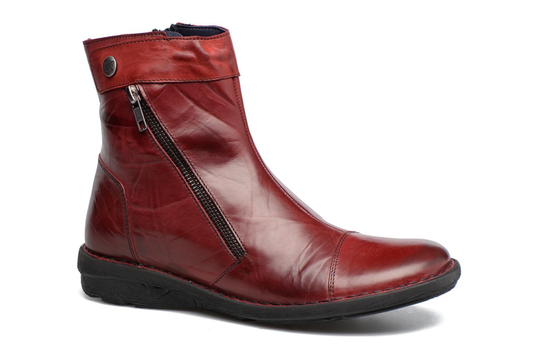 Bottines et boots Dorking Medina 7268 Bordeaux vue détail/paire