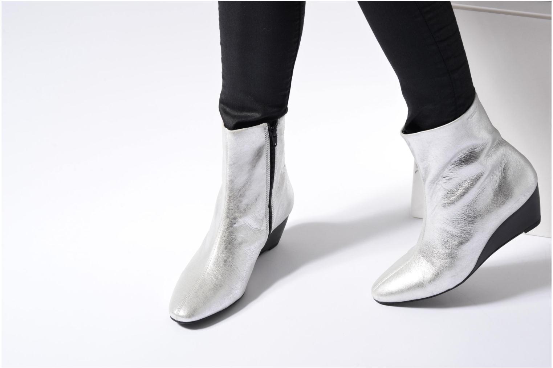 Stiefeletten & Boots Vagabond Shoemakers Bibi 4415-183 silber ansicht von unten / tasche getragen