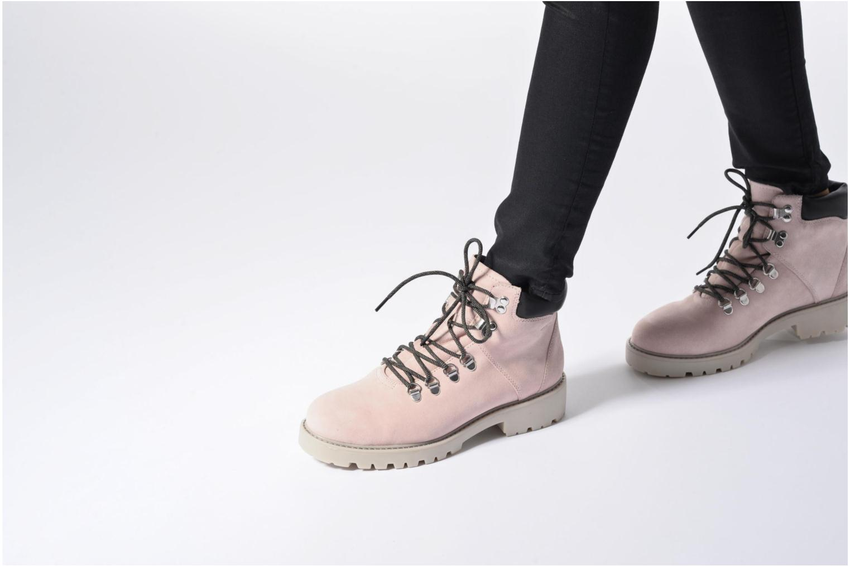 Bottines et boots Vagabond Kenova 4457-040 Rose vue bas / vue portée sac