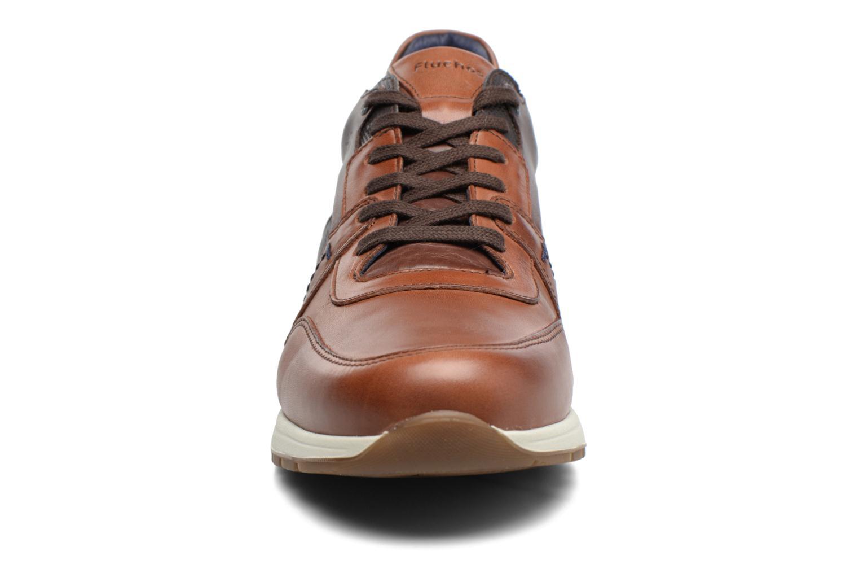 Baskets Fluchos Erik 9813 Marron vue portées chaussures